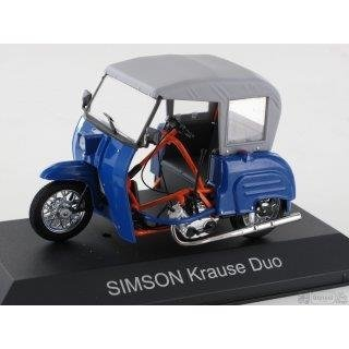 Simson Krause Duo; blau 1/43